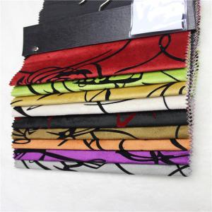 upholstery fabrics turkey micro velvet fabric with flocking shiny velvet sofa fabric Manufactures