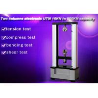 China Computer Control Electronic Universal Testing Machine 10KN Two Columns on sale
