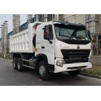 40 Ton HOWO A7 Heavy Dump Truck With Luxurious A7-W Cab Ten Wheels Manufactures