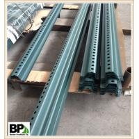 Speedway Safety Hot Dipped Zinc Coating U Type Post Manufactures