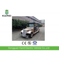 Quality FRP Body Electric Vintage Cars / Electric Tour Bus With 8 Seats For Pick Up for sale