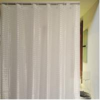 OEM Elegant Polyester Palm / Duck Pattern Window Shower Curtain For Child Manufactures