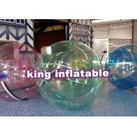 Large Walking On Water Balls Inflatable Water Toys with Custom Logo Printed Manufactures