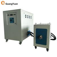 China Best Medium Frequency induction forging furnace 200KW for steel bar, billet, copper Manufactures