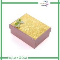 Luxury Clothing Packaging Paper Gift Boxes With Custom Printed Logo Manufactures