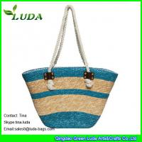 striped cheap wheat straw bags online unique handbags Manufactures
