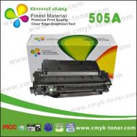 Buy cheap Black CE505A05A Toner Cartridge Compatible HP LaserJet P2035 series from wholesalers