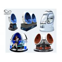 Children Funny 9D VR Cinema Theme Park Virtual Reality Game Machine With 360° Rotation Manufactures