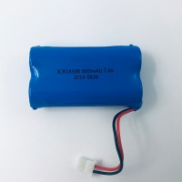 LG Chem Lithium 7.4V 800mAh 18650 Lithium Ion Battery Pack Manufactures
