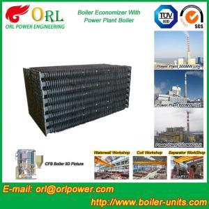 Corrosion Resistance Condensing Economizer In Boiler , Economiser In Boiler Manufactures