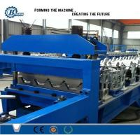 Galvanized Steel Trapezoidal Sheet Metal Roll Forming Machines High Speed Manufactures