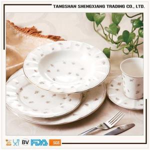China new shape wholesale  new bone china dinnerware set on sale