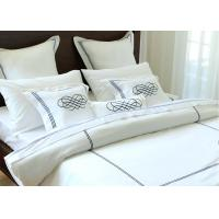 Elegant Embroidered Modern Bedding Sets Twin / Queen / King Size 100% Cotton Manufactures