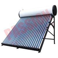 Roof Mounted Heat Pipe Solar Water Heater Manufactures