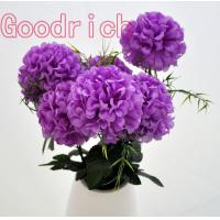 artificial hydrangea flower bushes Manufactures