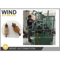 Commutator Armature Dual Flyer Winding Machine / Automatic Coil Winding Machine Manufactures