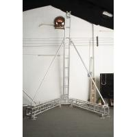 Aluminum Alloy Handy Speaker Trade Show Display Truss / Concert Lighting Truss Manufactures