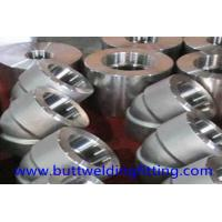 Forged Elbow alloy steel Pipe Fitting ASME B16.11 ASTM ASTM A182 F22 90DEG SW/TH 9000LB Manufactures