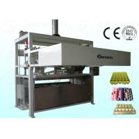 1800Pcs / H Moulded Pulp Egg Carton Machine Full Automatically Manufactures