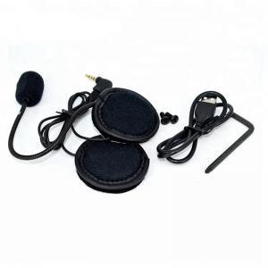 IP56 V6 Motorcycle Bluetooth Intercom Low Resistance High Fidelity Headphone Speaker Manufactures