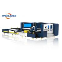 4mm Carbon Steel Fiber Laser Tube Cutting Machine 500w - 4000W With Raytools Manufactures