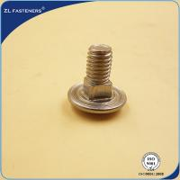 Hardware Products Stainless Steel Bolts Button Head ISO8677 Standard Manufactures