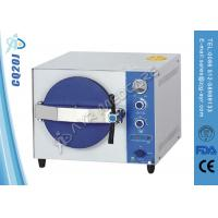Stainless Steel Table Top Autoclave Steam Sterilizer With Double Lock Door Manufactures