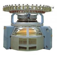 4 / 6 Color Auto Striper Circular Knitting Machine Adopt Oil - Immersed Structure Gear Manufactures
