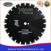 SGS Approved Asphalt Cutter Blade , Black Diamond Blade For Asphalt Manufactures