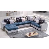 Buy cheap Blue Fabric Sofa Set L.A038 from wholesalers