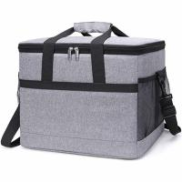 China 30L Insulated Food Cooler Bags 50- Can Soft Sided For Beach / Picnic / Camping on sale