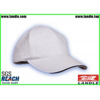 China White Velcro Closure 100% Cotton Kids Baseball Hat Metal Strap Old Style on sale