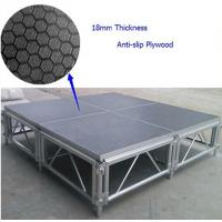 6082-T6 Anti-slip Waterproof Plywood Portable Stage For Concert Manufactures