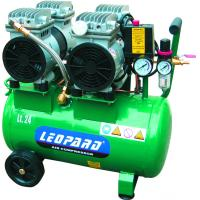 Double Cylinder Head Piston Air Compressor Oilless For Dental Clinic / Residential Buildings Manufactures