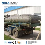 Mola Tank Portable oil sac/ Portable bladder tank for fuel 100L 200L TPU oil bladder Manufactures
