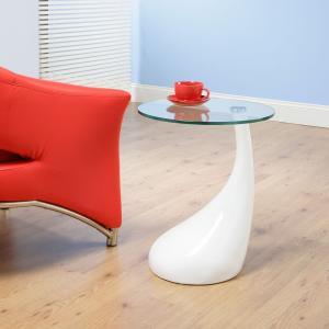 Valentino Boretti Bistro Contemporary Glass Coffee Tables Tadpole Shape For Coffee Shop Manufactures