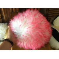 Long Hair Wool Car Wash Hand Gloves , Household Lambswool Wash Mitt No Scratch Manufactures