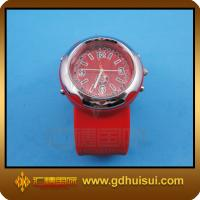 China red silicone sport watch on sale