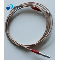 C5-C5 Ultrasonic Probe Custom Power Cables LEMO FFA 00 250 Connector RG316 Signal Transmission Manufactures