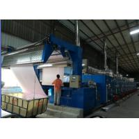 China Open Width Knits Fabric Stenter Machine Low Tension Design Single / Double Drive on sale