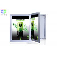 Quality Aluminum Profile Snap Lock Display Light Box Signs Outdoor Large Acrylic Sheet for sale