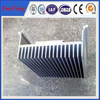 aluminium flat heat sink price per kg, china industrial profile aluminium OEM Manufactures
