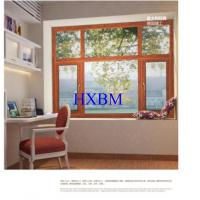 Contemporary Home Aluminium And Wood Windows , 5mm Glass Double Glazed Windows Manufactures