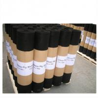 China 0.2 - 1.2mm Thickness Roofing Felt Paper Aspahlt Roofing Membrane on sale