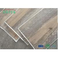 Customized Color Luxury Vinyl Tile Flooring With Good Dimension Stability For Living Room Manufactures