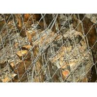 Hot Dipped Galvanized Rockfall Protection Netting Tecco Mesh Slope Stabilization System Manufactures