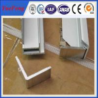 Hot! customized of design of extrusion press l channel solar panel frame materials Manufactures