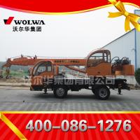 China Chinese manufacturer small wheel crane truck mounted crane with telescopic GNQY-z490 on sale