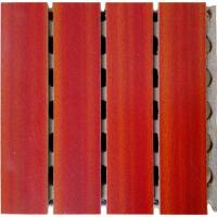 Prefabricated Concrete Wooden Grooved Acoustic Panel Interior Grooved Partition Wall Panels Manufactures