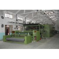 PLC Servo Control Non Woven Fabric Machine Pen Jiaomian Production Line With Servo Motor Manufactures
